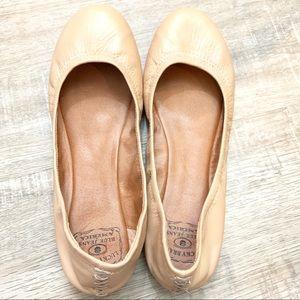 Lucky Brand LK Emmie Ballet Flat Tan
